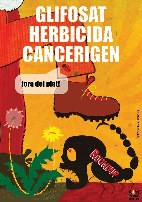 Glifosat, herbicida cancerígen